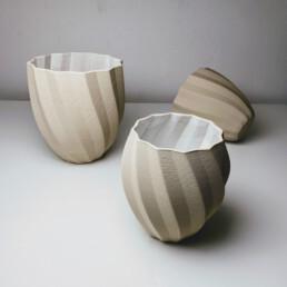 WCKD Vase und Caspo