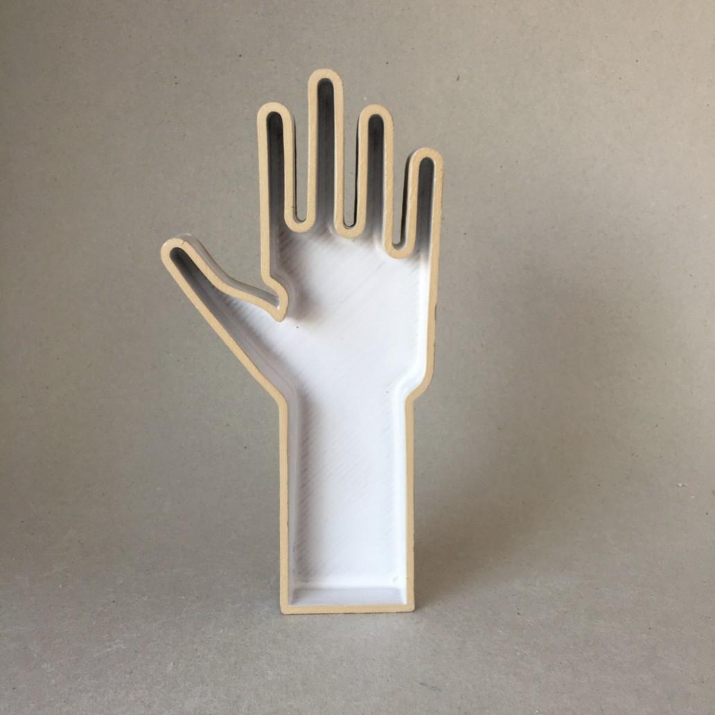 HND — Hand Objekt aus Keramik