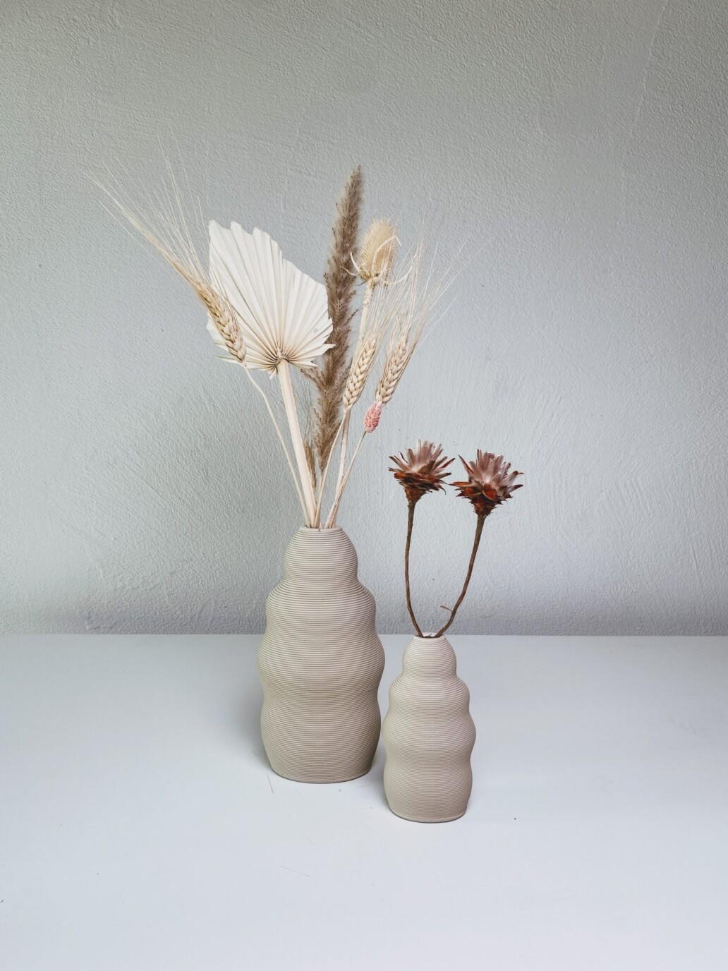 FLSCH – 3D gedruckte Keramikvase