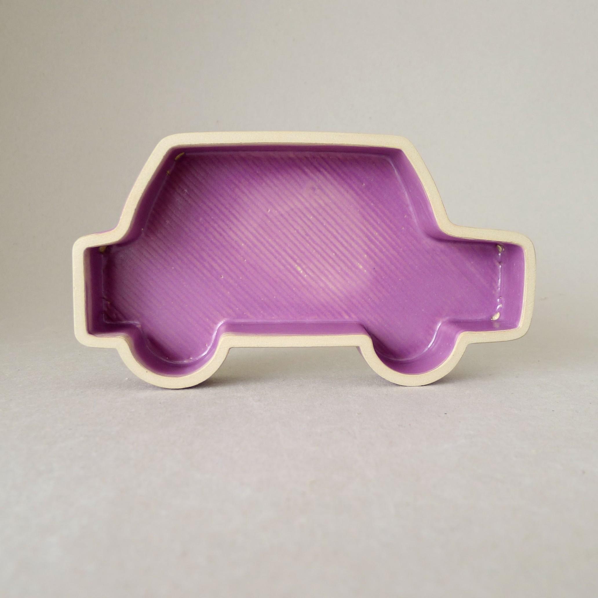 Eine 3D gedruckte Schale aus Keramik