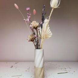 TBTTL Vase im Set mit Trockenblumen